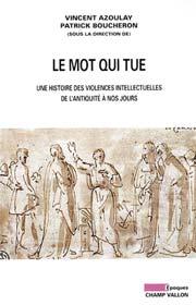 Le_Mot_qui_tue, Editions Champ Vallon