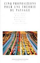 Cinq propositions pour une theorie du paysage (Augustin Berque (dir.) – 1994)