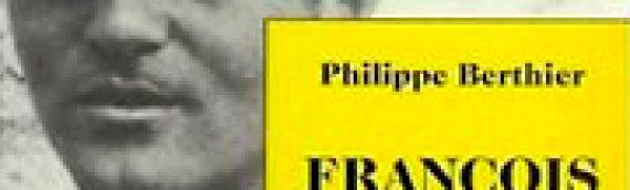 PHILIPPE BERTHIER François Augiéras