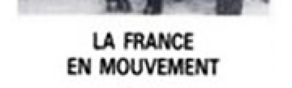JEAN BOUVIER La France en mouvement
