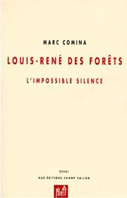 Louis-René des Forêts – Marc Comina 1998