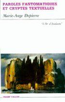 Paroles fantomatiques et cryptes textuelles – Marie-Ange Depierre 1993