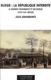 Russie : la République interdite – Julie Grandhaye 2012