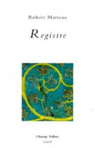 Registre – Robert Marteau 1998