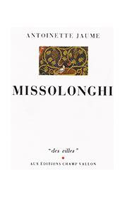 Missolonghi – Antoinette Jaume 1991