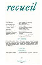 Revue Recueil – n°10 – La bêtise (1988)