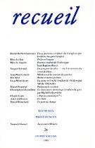 Revue Recueil – n°26 (1993)