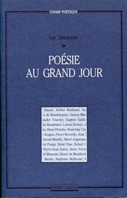 Poésie au grand jour – Luc Decaunes 1982