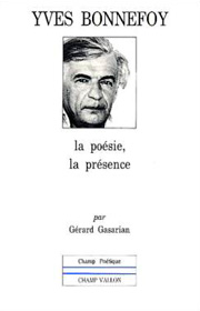 Yves Bonnefoy – Gérard Gasarian 1986
