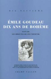 Dix ans de bohême – Émile Goudeau 1996