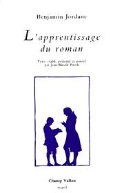 Apprentissage du roman (L') – Benjamin Jordane 1993