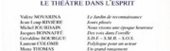 Le Nouveau Recueil – n°43 – Le théâtre dans l'esprit