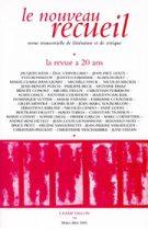 Le Nouveau Recueil – n°74 – La revue a vingt ans – mars/mai 2005