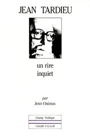 Jean Tardieu – Michel Onimus 1986