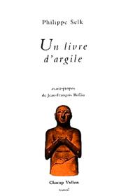 Un livre d'argile – Philippe Selk 1989