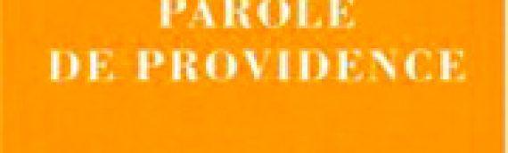 CLARISSE VIGOUREUX Parole de Providence