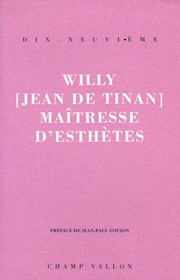 Maîtresse d'esthètes – Willy [Jean de Tinan] 1995