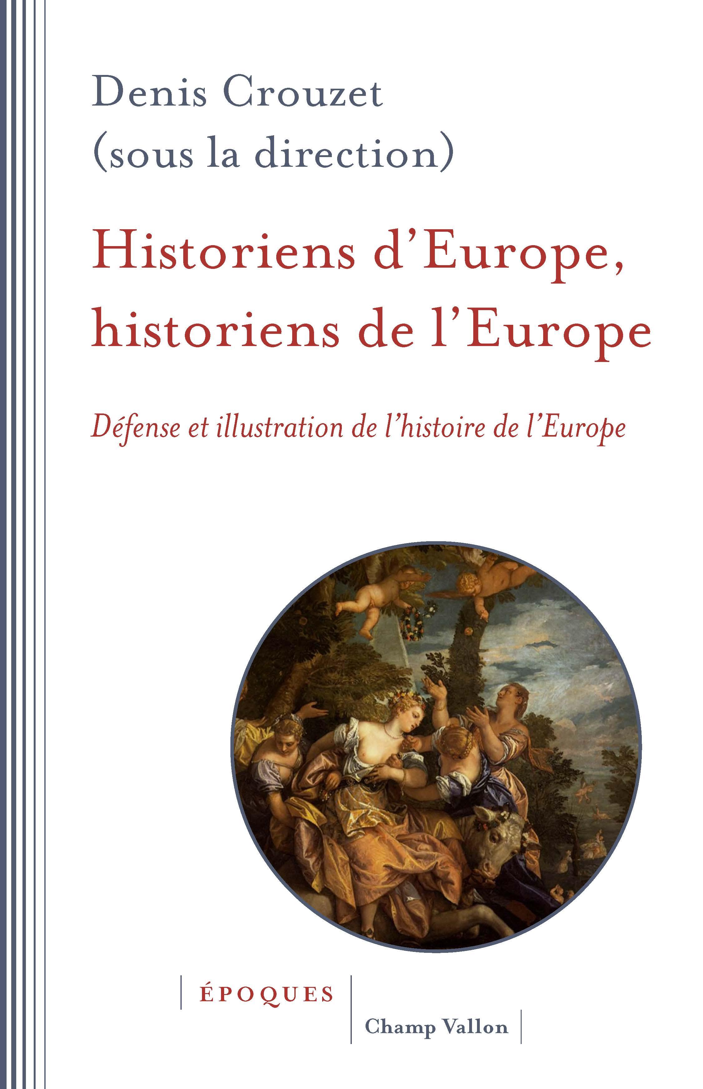Historiens de l'Europe Crouzet