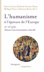 Couverture L'humanisme