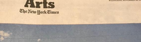 Les Gouvernantes d'Anne Serre dans le New York Times