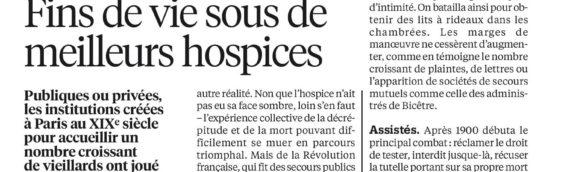 Libération: Vies d'hospice de Mathilde Rossigneux-Méheust
