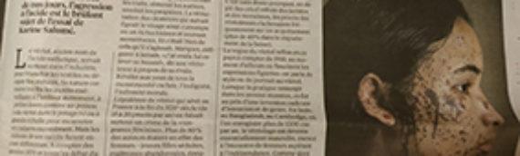 Vitriol de Karine Salomé dans Libération