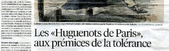 Les Huguenots de Paris, aux prémices de la tolérance